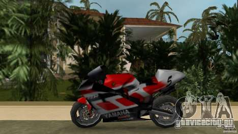 Yamaha YZR 500 V1.2 для GTA Vice City вид слева