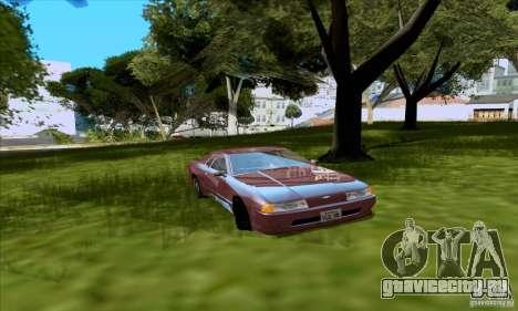 ENB Series v1.4 Realistic for sa-mp для GTA San Andreas шестой скриншот