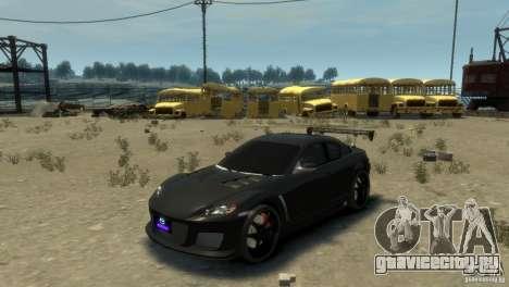 MAZDA RX8 для GTA 4