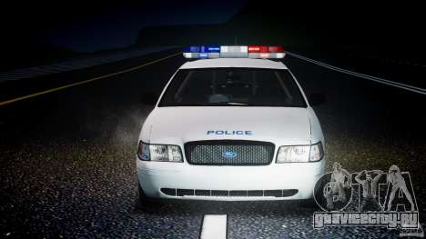 Ford Crown Victoria CVPI-V4.4M [ELS] для GTA 4 вид снизу