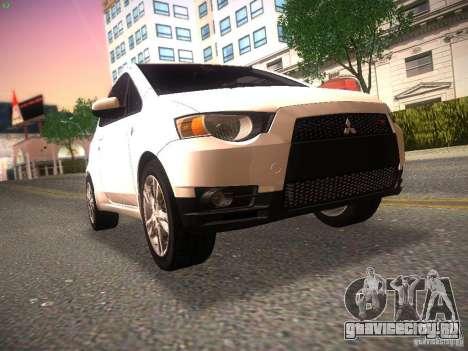 Mitsubishi Colt Rallyart для GTA San Andreas вид слева