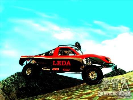 Toyota Tundra Rally для GTA San Andreas вид сбоку