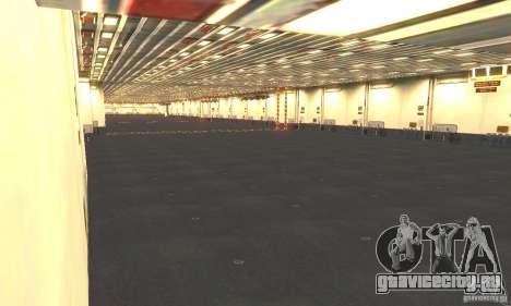 CVN-68 Nimitz для GTA San Andreas пятый скриншот