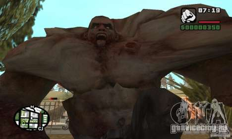 Танк из Left 4 Dead для GTA San Andreas четвёртый скриншот