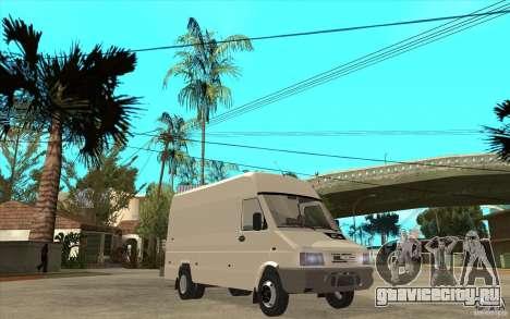 Iveco Turbo Daily для GTA San Andreas вид сзади