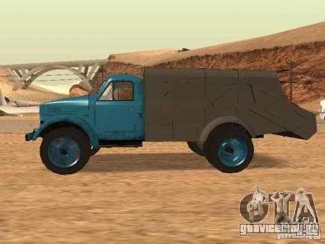 ГАЗ 51 Мусоровоз для GTA San Andreas вид слева