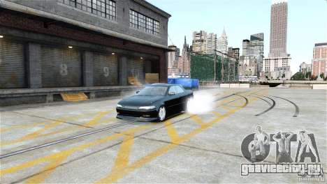 Toyota Mark II 2.5 для GTA 4 вид слева