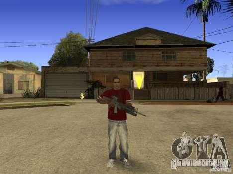 M4 Arma для GTA San Andreas третий скриншот
