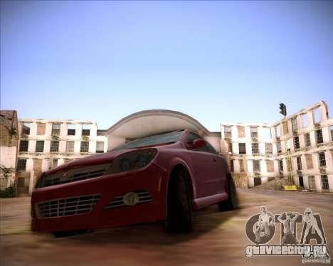 Opel Astra Saturn для GTA San Andreas вид сзади слева
