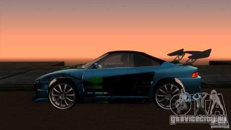 Toyota MR2 Drift для GTA San Andreas вид слева