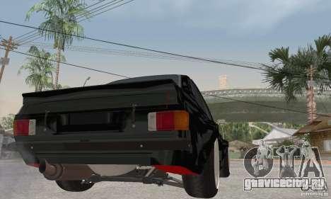 Ford Escort Mk2 для GTA San Andreas вид справа