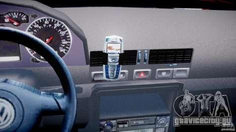 Volkswagen Bora для GTA 4 вид снизу
