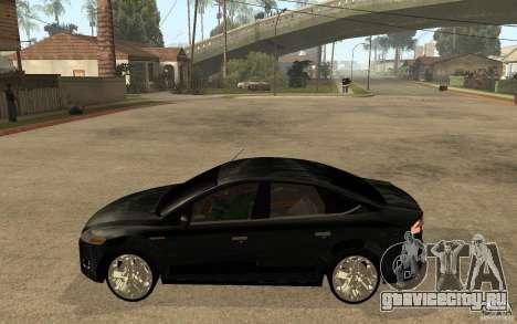 Ford Mondeo 2009 для GTA San Andreas вид слева