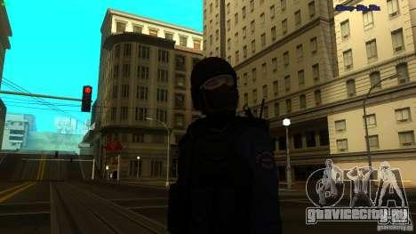 SWAT Officer для GTA San Andreas второй скриншот