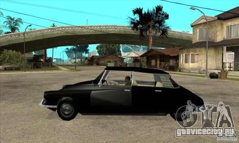Citroen ID 19 для GTA San Andreas вид слева