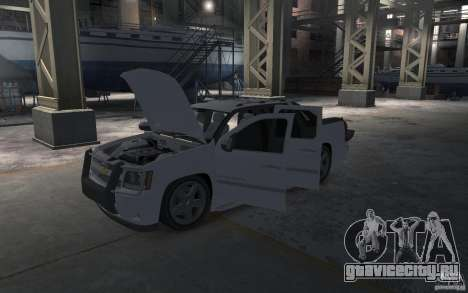 Chevrolet Avalanche v1.0 для GTA 4 вид сбоку