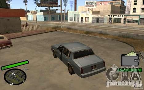 Новый HUD для GTA San Andreas