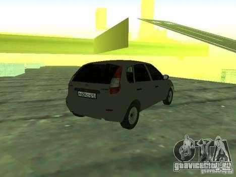 ВАЗ 1119 Калина Хэтчбэк для GTA San Andreas вид слева