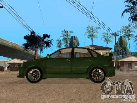 Lada Kalina Sport Tuning для GTA San Andreas вид слева