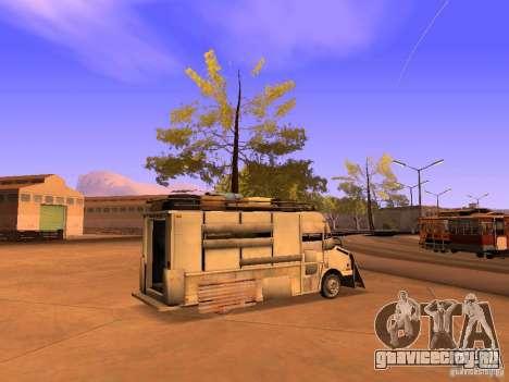 Monster Van для GTA San Andreas вид слева