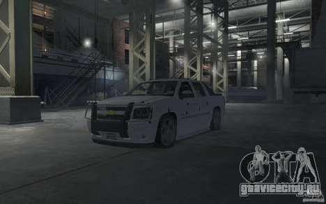 Chevrolet Avalanche v1.0 для GTA 4 салон