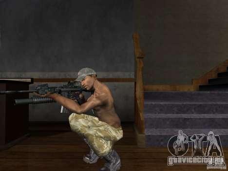 Головные уборы Call of Duty 4: Modern Warfare для GTA San Andreas четвёртый скриншот
