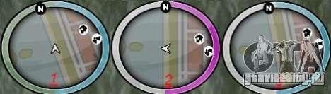 New GTA IV HUD 1 для GTA San Andreas второй скриншот