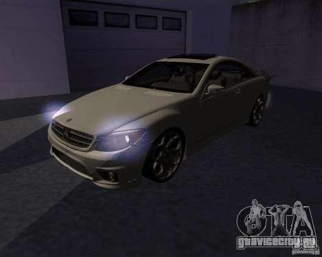 Mercedes-Benz CL65 AMG для GTA San Andreas