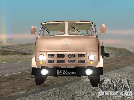 МАЗ 503 для GTA San Andreas вид справа