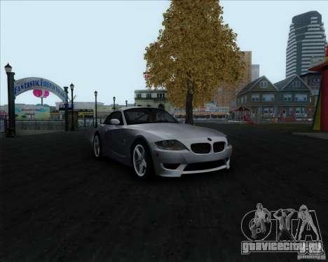BMW Z4M для GTA San Andreas вид сзади