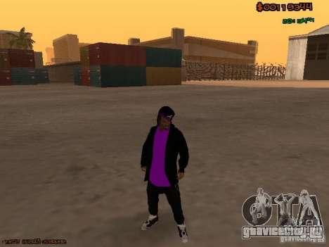 Ballas skins для GTA San Andreas