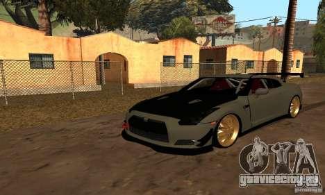 Nissan GTR R35 Tuning для GTA San Andreas