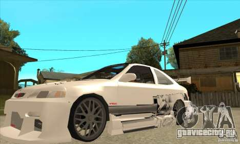 Honda Civic Tuning Tunable для GTA San Andreas салон