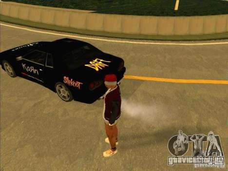 Metal Drift Винил для GTA San Andreas вид слева