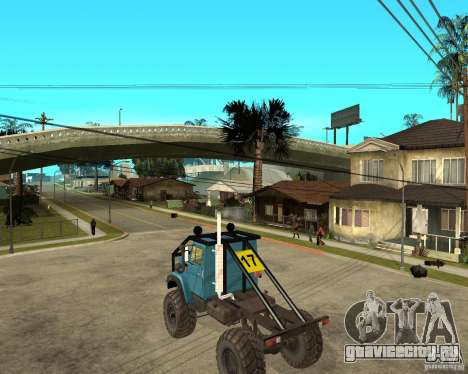 ЗИЛ 4421 РАЛЛИ для GTA San Andreas вид слева