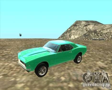 Chevrolet Camaro z28 для GTA San Andreas вид слева