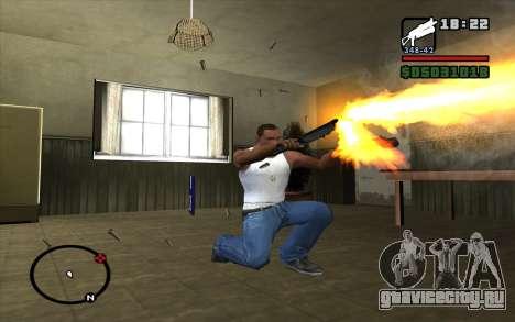 ПП-19 Бизон для GTA San Andreas четвёртый скриншот