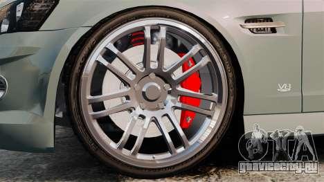 Chevrolet Lumina 2009 Mr. Bolleck Edition для GTA 4 вид сзади