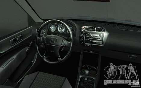 Honda Civic EK9 JDM v1.0 для GTA San Andreas вид сверху