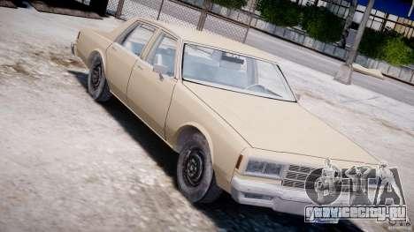 Chevrolet Impala 1983 для GTA 4