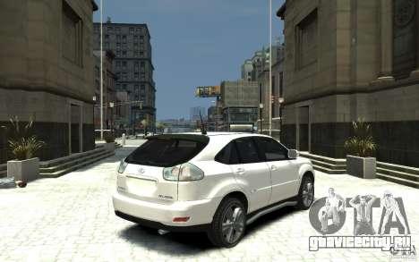 Lexus RX 400h для GTA 4 вид справа