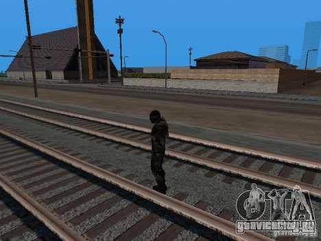 Crysis Nano Suit для GTA San Andreas шестой скриншот