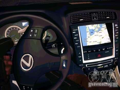 Lexus I SF для GTA San Andreas вид сбоку