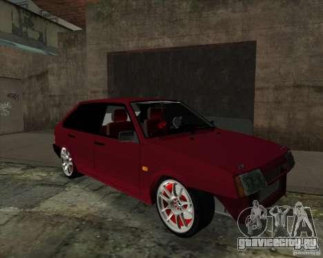 ВАЗ 2109 Drift для GTA San Andreas вид слева
