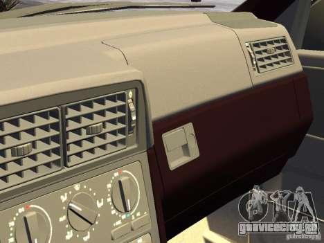 Volvo 850 R 1996 Rims 1 для GTA 4 вид изнутри