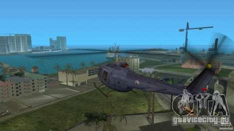 Maverick Bell-Huey для GTA Vice City вид справа