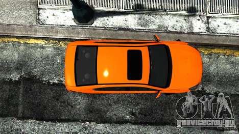 Subaru Legacy B4 для GTA 4 вид справа