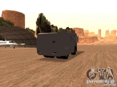Полицейский водомет Rosenbauer v2 для GTA San Andreas вид справа
