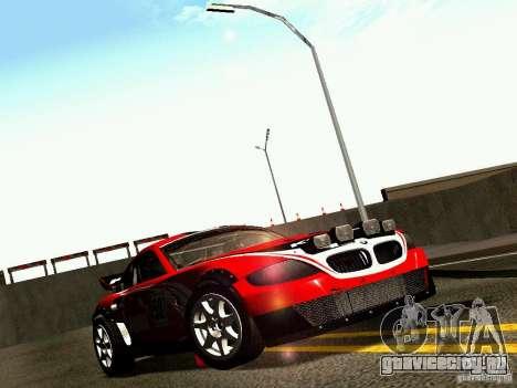 BMW Z4 Rally Cross для GTA San Andreas двигатель