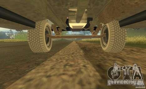 ЗиЛ 164 Тягач для GTA San Andreas вид сверху
